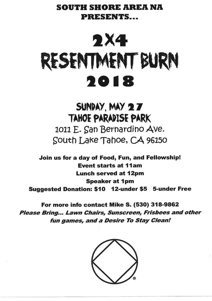 "SLT Area presents - ""2x4 Resentment Burn"" @ Paradise Park 