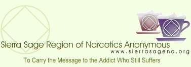 Sierra Sage Region of Narcotics Anonymous