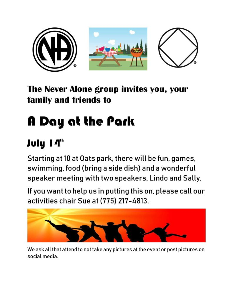 "RNA - Never Along group presents ""A Day at the Park"" @ Oats Park 