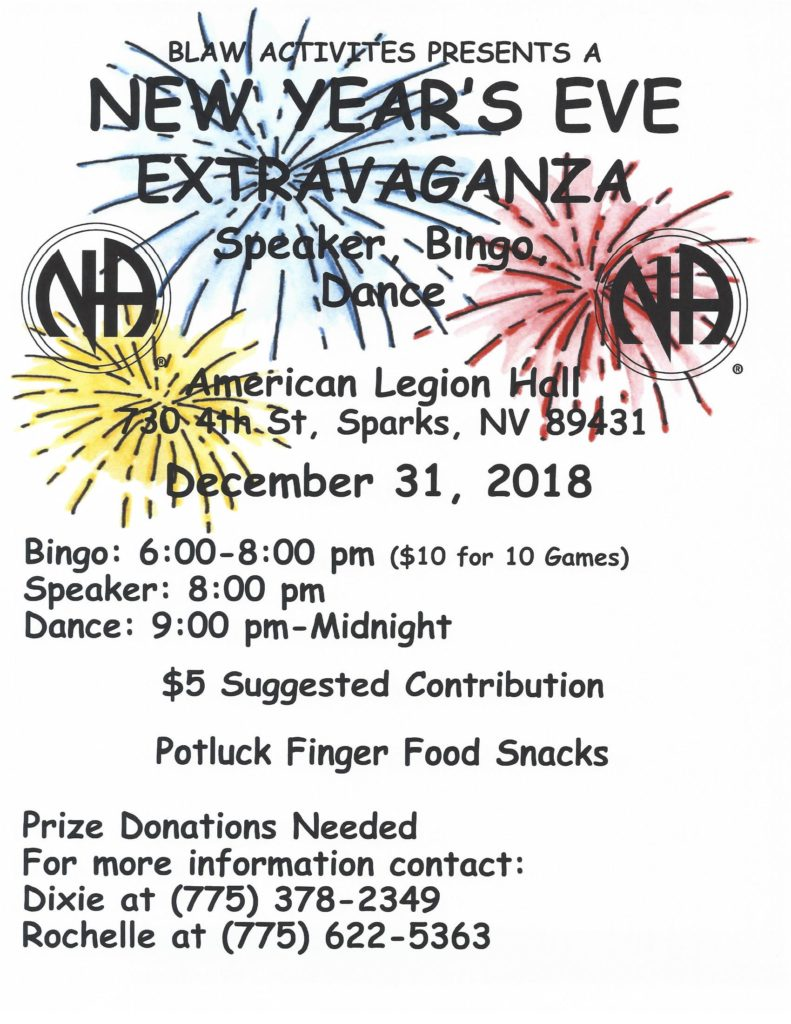 "BLAW ""New Year's Eve Gala Extravaganza @ American Legion Hall 