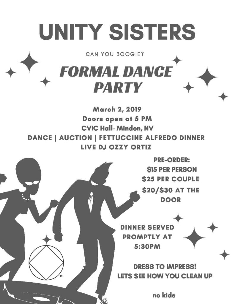 "The Unity Sisters present ""Dance Party"" @ Civic Hall 