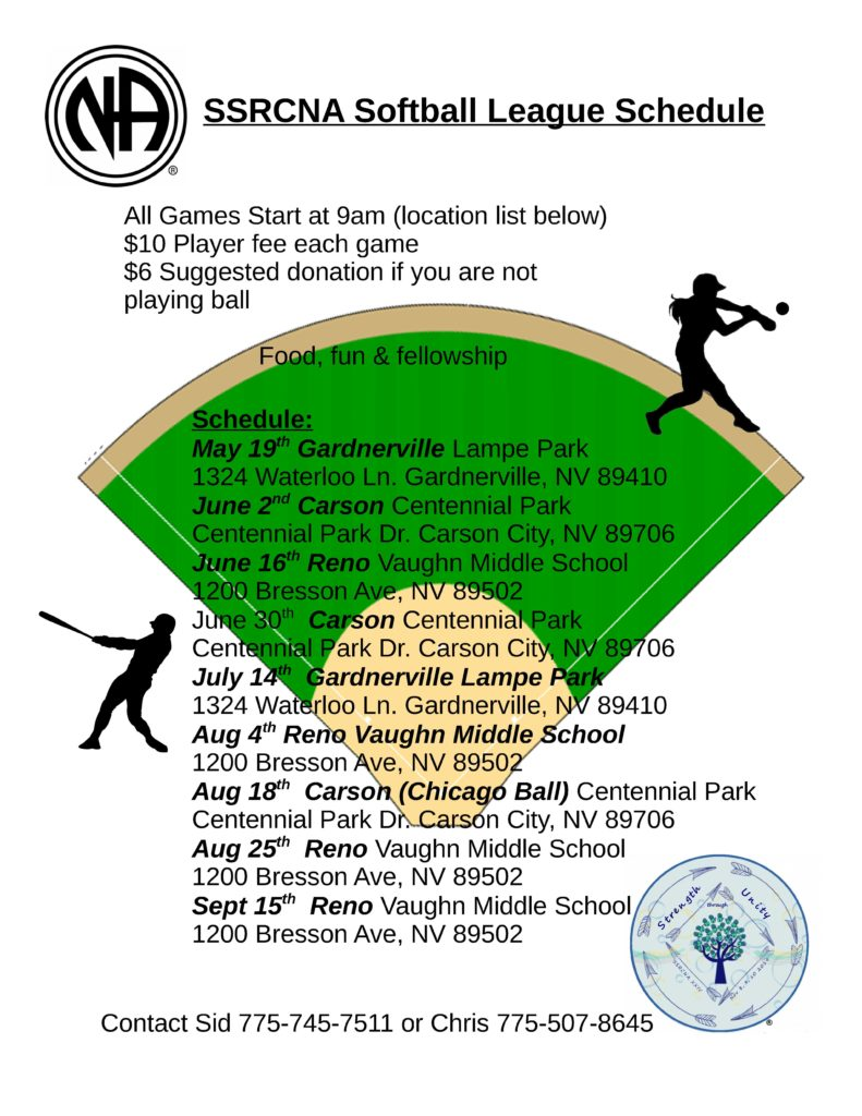 "SSRCNA - ""Co-Ed Softball"" 2019"